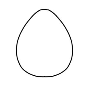 イースターエッグのイラストの描き方