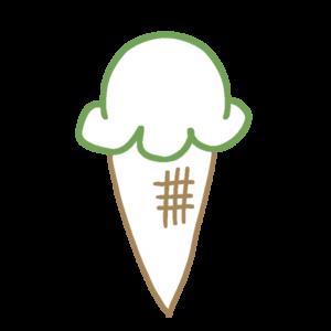 アイスクリームのボールペンイラストのかわいい書き方