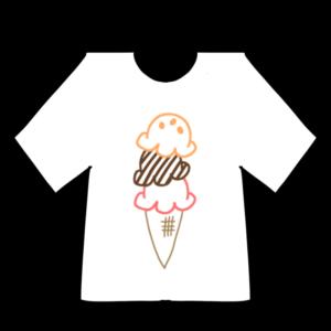 Tシャツのボールペンイラストのかわいい書き方