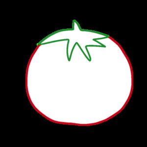 ミニトマトのボールペンイラストのかわいい書き方