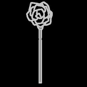 バラのボールペンイラストのおしゃれな書き方