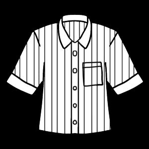 カッターシャツのボールペンイラストのおしゃれな書き方
