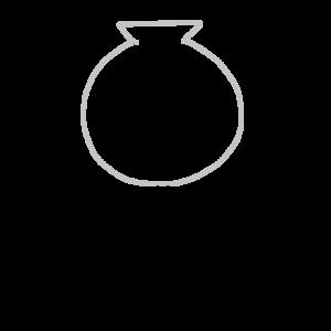 りんご飴のボールペンイラストのかわいい書き方
