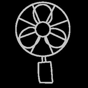 扇風機のボールペンイラストの簡単な書き方